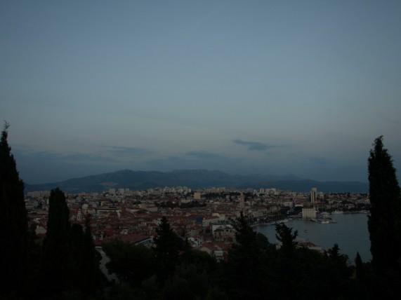 Split desde el monte Marjan