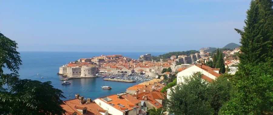 Llegando a Dubrovnik!