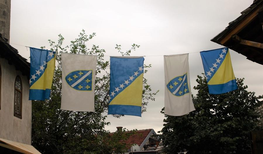 Banderas de Bosnia-Herzegovina