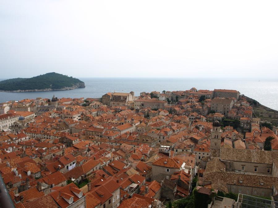 Dubrovnik a vista de pajaro