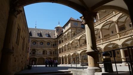 Precioso patio interior del Altes Schloss