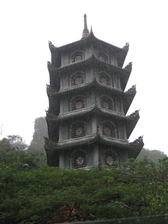 Torre del templo de Xa Loi