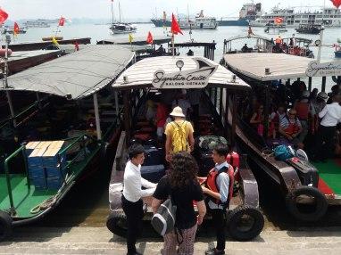 Traslado al barco Signature Cruise