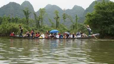 Navegando al ras del agua
