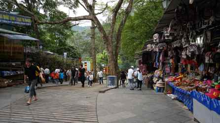 Subida a la Pagoda Thien Tru