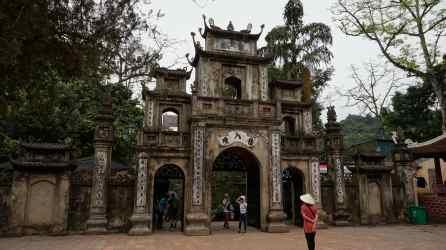 Entrada a la Pagoda Thien Tru