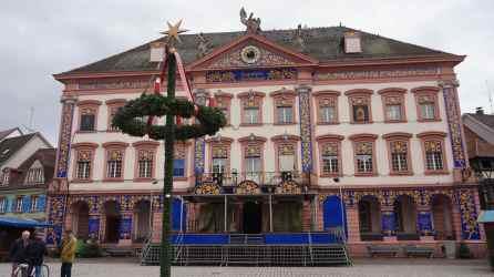 Genial calendario de Aviento en las ventanas del Ayuntamiento (Rathaus)