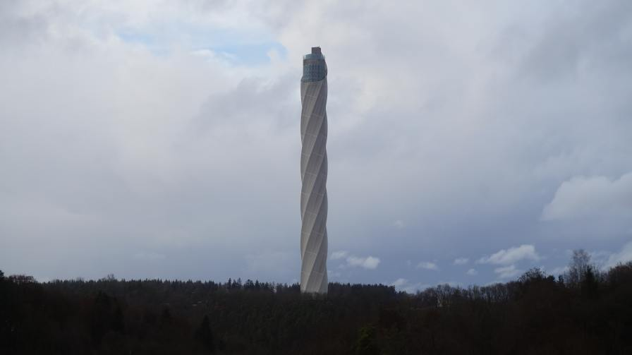 Torre de pruebas de ascensores de ThyssenKrupp en Rottweil