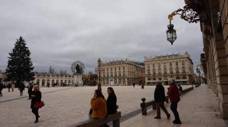 Place Stanislas con la Ópera y Hotel al fondo