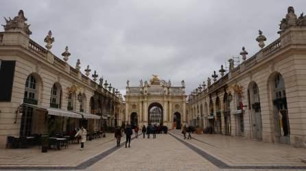 Place Stanislas Arco de Triunfo